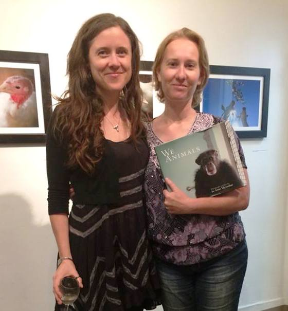 With Jo-Anne McArthur at