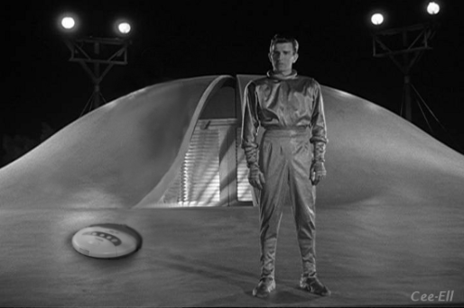 Michael Rennie as Klaatu in the classic 1951 Science-fiction movie