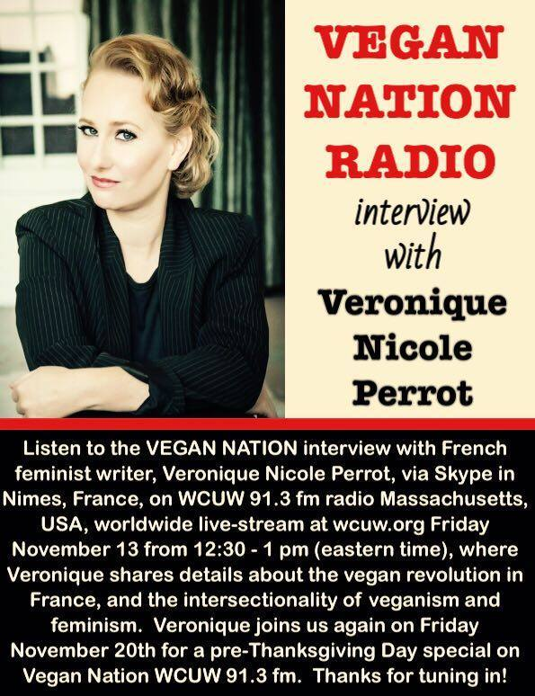 vegan nation interview poster